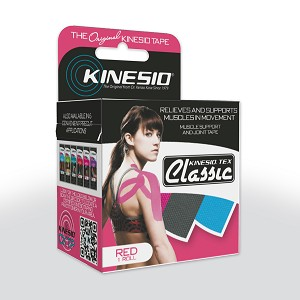Kinesio Tex Classic Individual Red 2 in x 13.1 ft