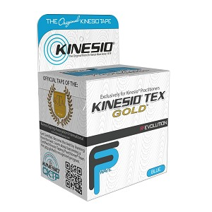 "Kinesio Tex Tape Gold FP Individual Blue 2""x16.4'"