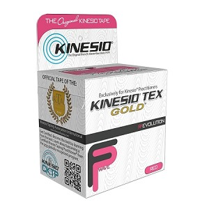 "Kinesio Tex Tape Gold FP Individual Red 2""x16.4'"